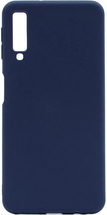 Чехол для сотового телефона GOSSO CASES для Samsung Galaxy A7 (2018) Soft Touch, 198694, темно-синий