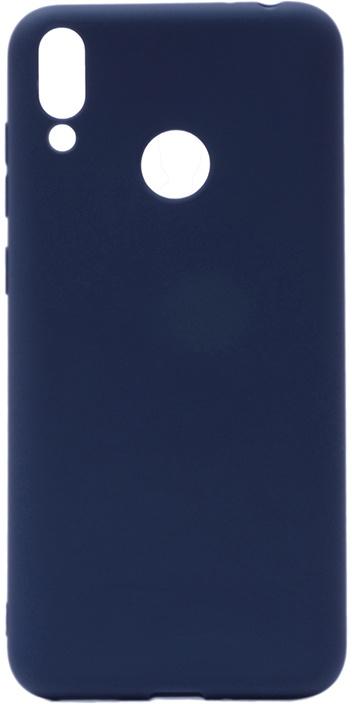 Чехол для сотового телефона GOSSO CASES для Huawei Honor 8C Soft Touch, 199028, темно-синий чехол для сотового телефона gosso cases для huawei honor 7x soft touch 201910 черный