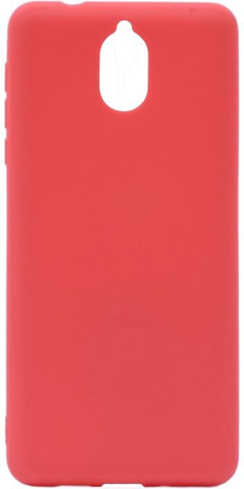 Чехол для сотового телефона GOSSO CASES для Nokia 3.1 Soft Touch, 199034, красный