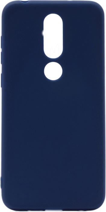 Чехол для сотового телефона GOSSO CASES для Nokia 6.1 Plus / X6 (2018) Soft Touch, 199044, темно-синий