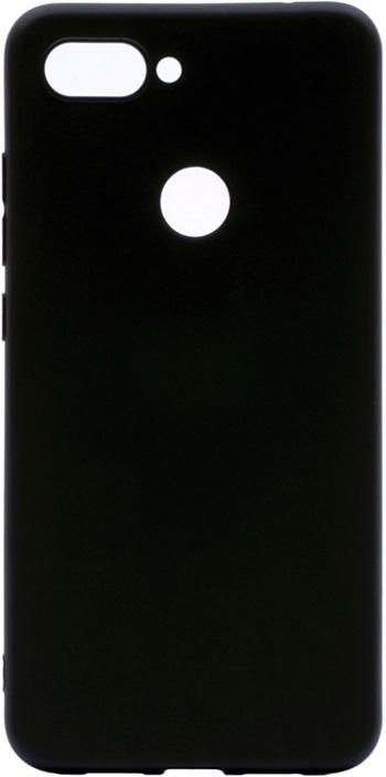 Чехол для сотового телефона GOSSO CASES Xiaomi Mi8 Lite Soft Touch, 201026, черный