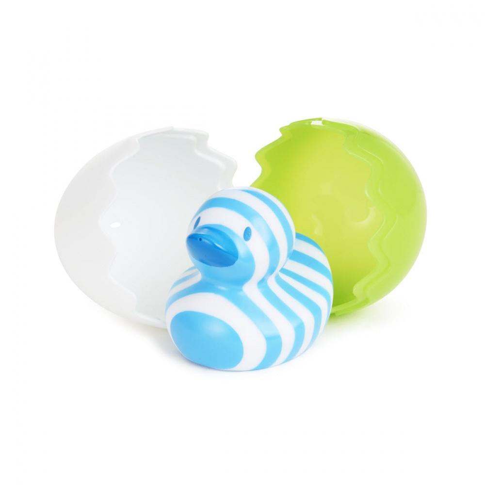 Munchkin игрушки для ванны Утёнок голубой 6+