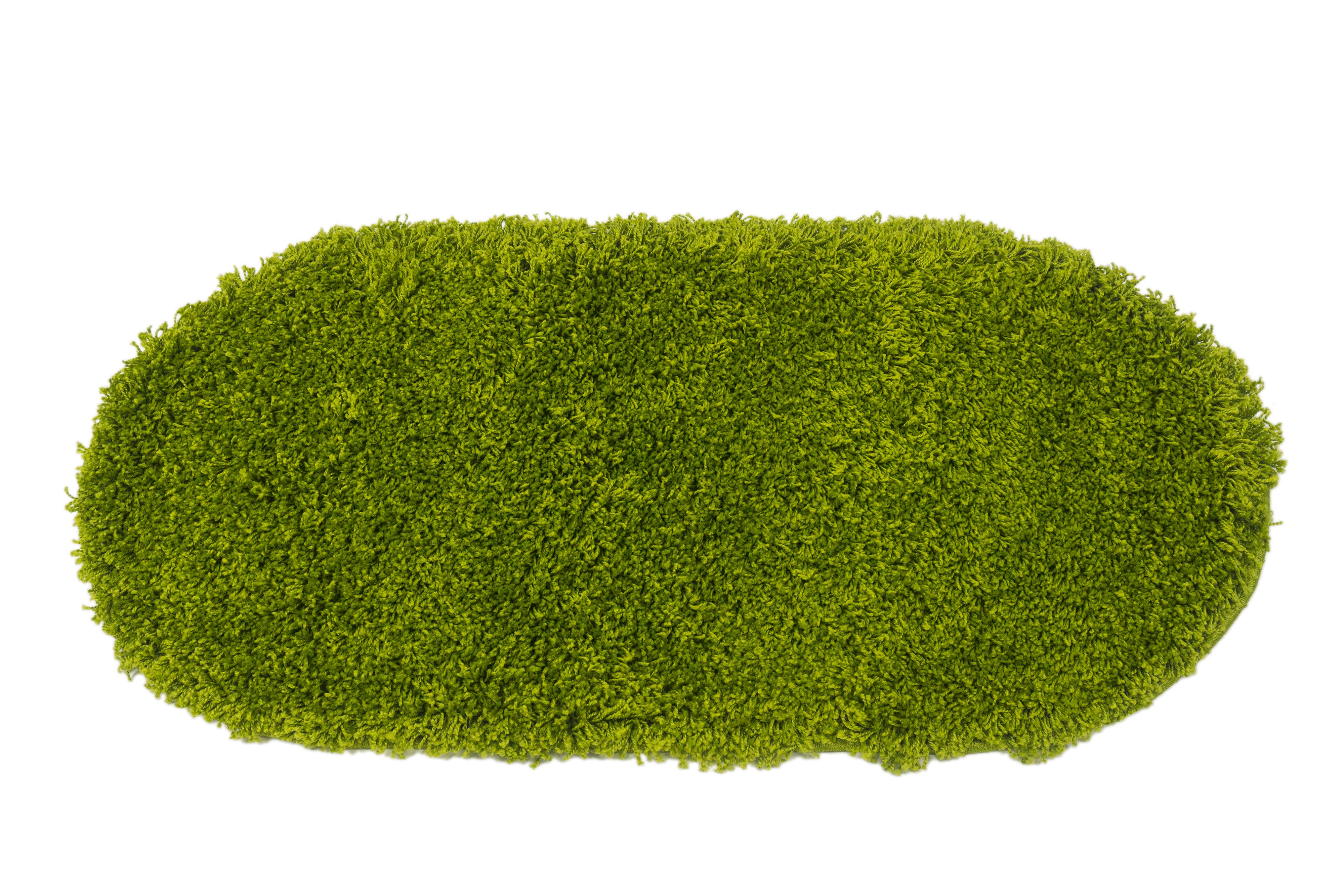 Ковер MADONNA 1.6x3.0м, овал, зеленый