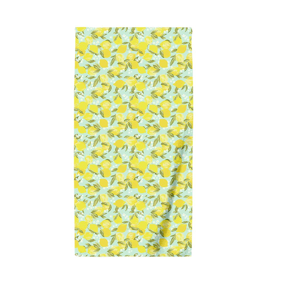 все цены на Полотенце пляжное 110*150 Bonita, вафельное, Лимоны онлайн