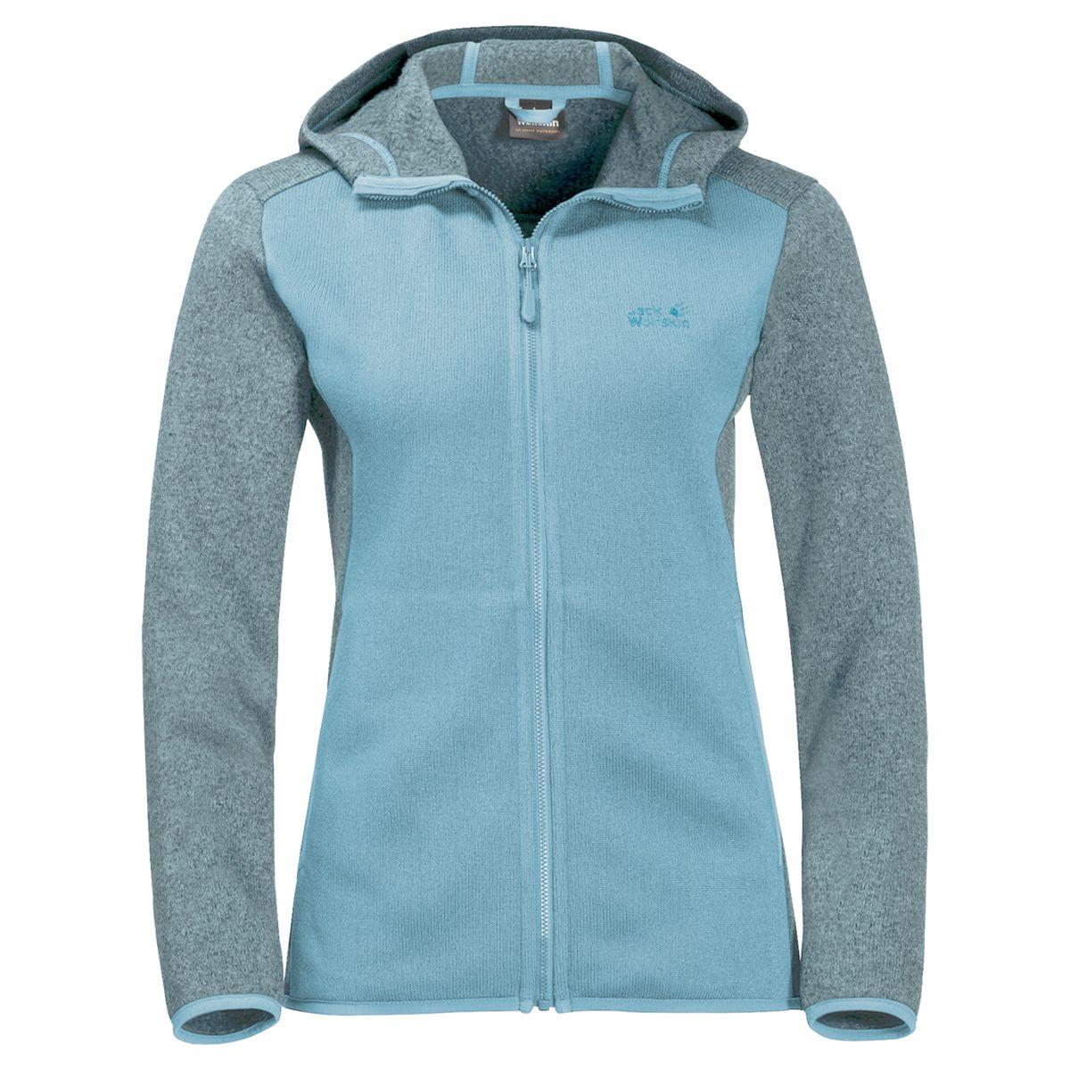 Толстовка Jack Wolfskin толстовка мужская jack wolfskin elk hooded jacket men цвет синий 1707101 1134 размер l 48 50