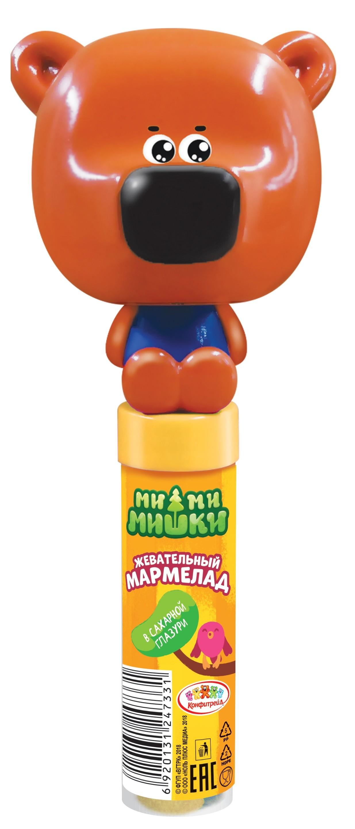 Мармелад Конфитрейд Туба, 20 десерты конфитрейд ми ми мишки в сахарной глазури с игрушкой 20 г
