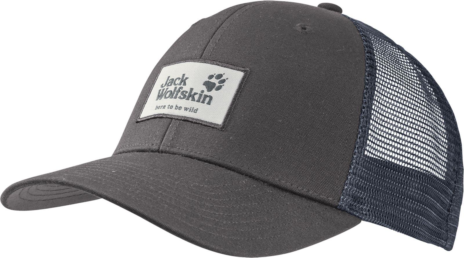 Бейсболка Jack Wolfskin бейсболка jack wolfskin baseball cap цвет светло бежевый 1900671 5505 размер 56 61