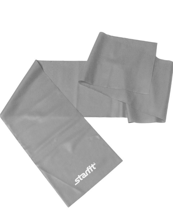 Эспандер ленточный для йоги STARFIT ES-201 1200*150*0.55 мм, серый