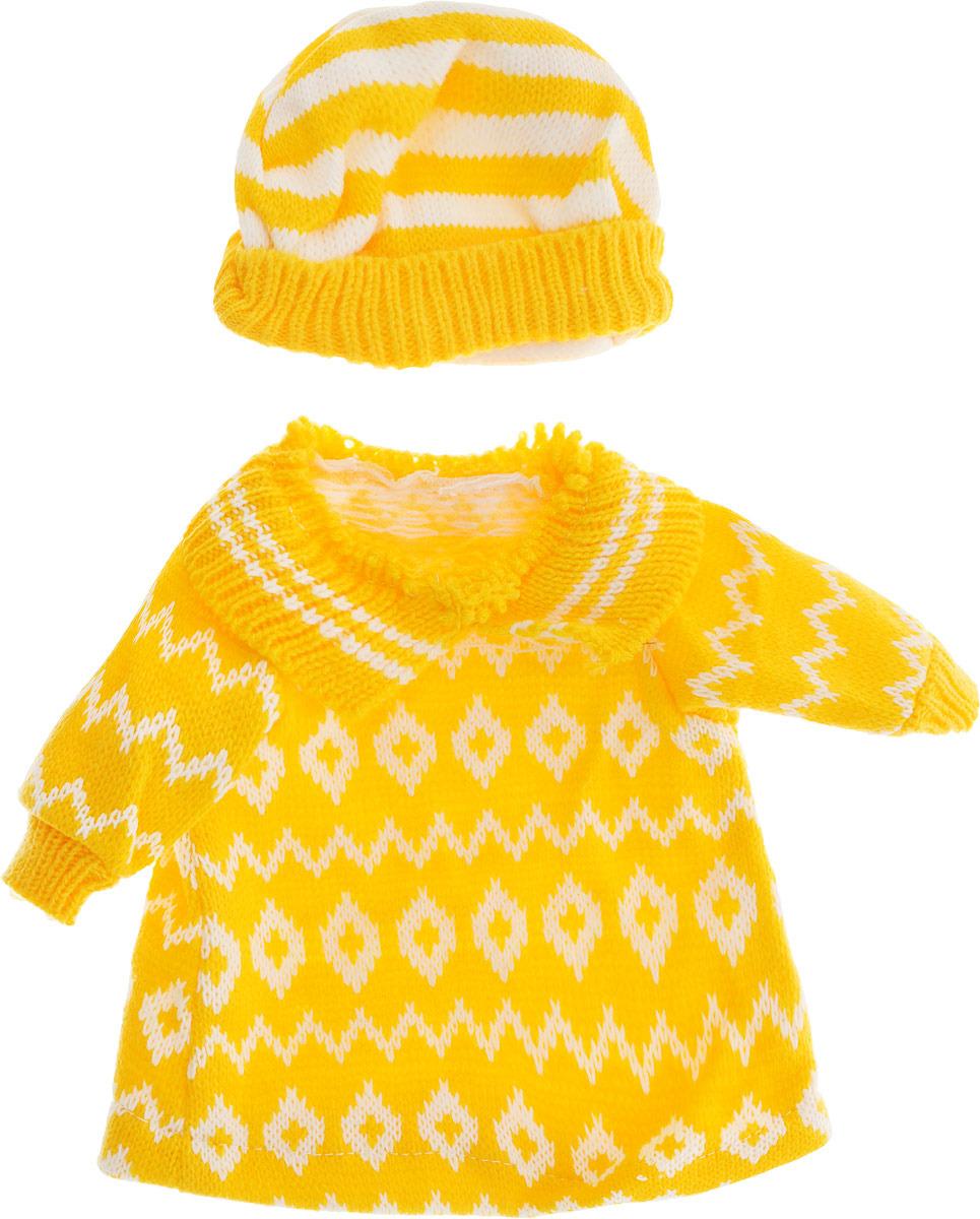 цена Одежда для кукол Junfa Toys, BLC06, желтый онлайн в 2017 году