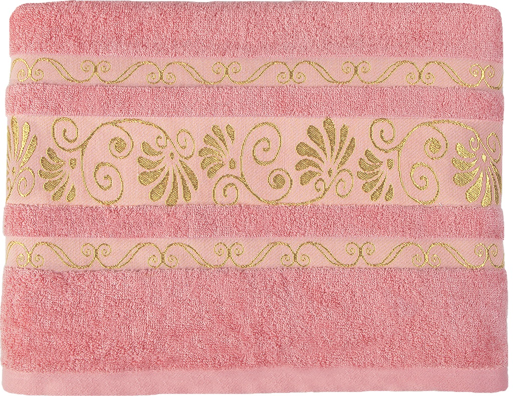 Полотенце банное 50*90 Bonita, махровое, Розовый фламинго полотенце банное fiesta arabesca 50 90 см