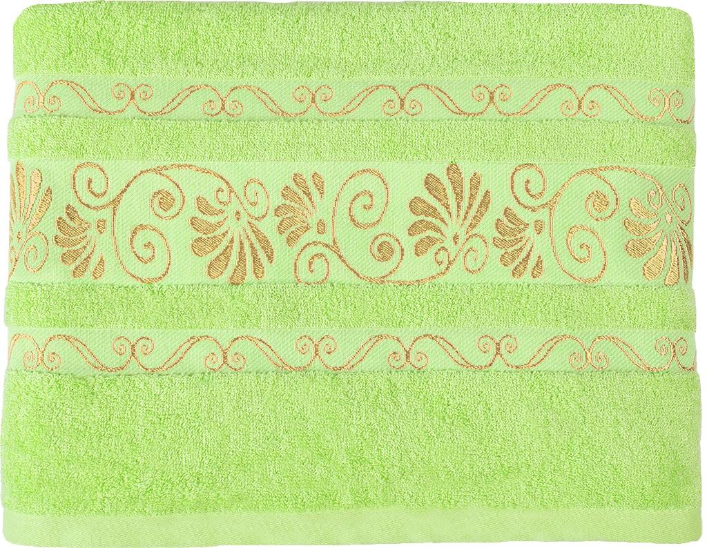 Полотенце банное 50*90 Bonita, махровое, Цветущий лайм полотенце банное fiesta arabesca 50 90 см