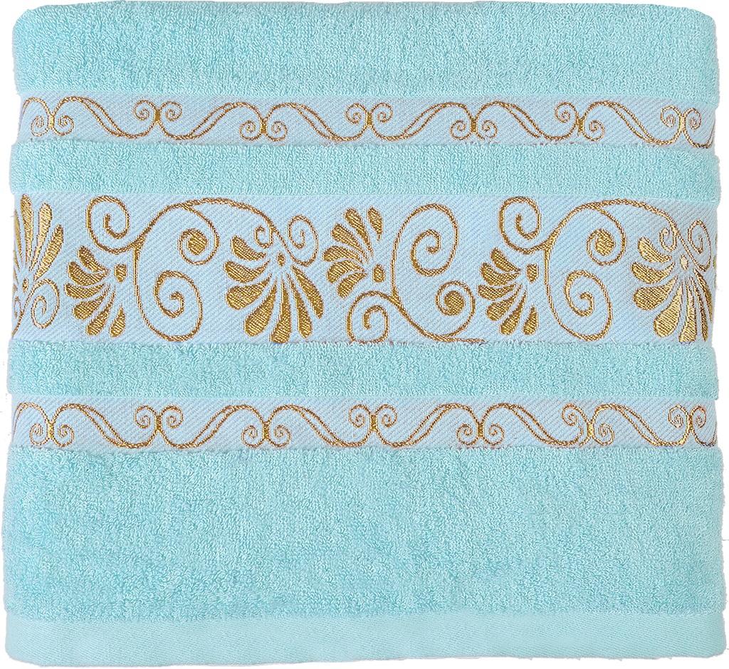 Полотенце банное 70*140 Bonita, махровое, Голубое сияние ddwx043bt b847 полотенце махровое голубое