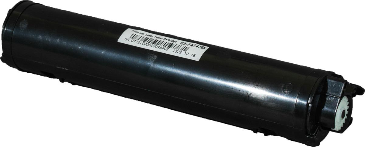 Картридж Sakura KXFAT472A7 для Panasonic KX-MB2110RU, KX-MB2117RU, KX-MB2130RU, KX-MB2137RU, KX-MB2170RU, KX-MB2177RU, черный