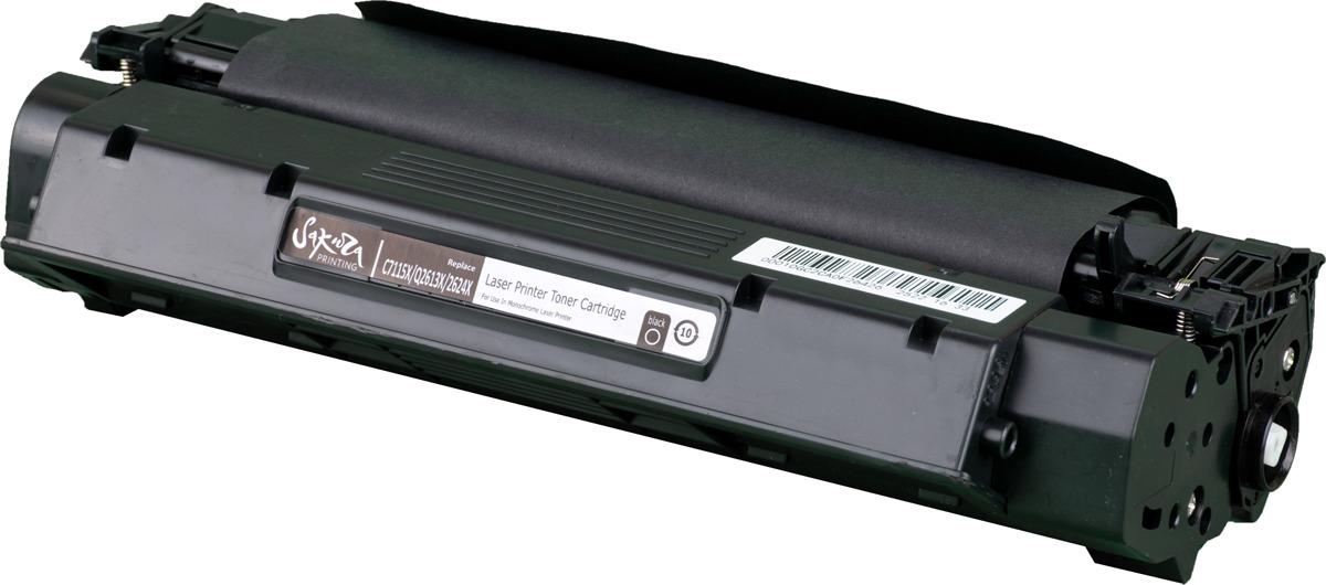 Картридж Sakura C7115X/Q2613X/2624X для HP LaserJet 1000/1150/1200/1200n/1200se/1220/1220se/1300/1300n/1300xi/3300/3310/3320/3320n/3330 Series, черный