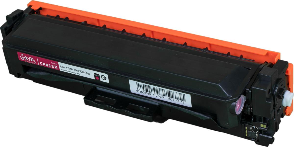 Картридж Sakura CF413X для HP LaserJet Pro M452nw, M452dn, M477fnw, M477fdw, M477fdn, M377dw, пурпурный