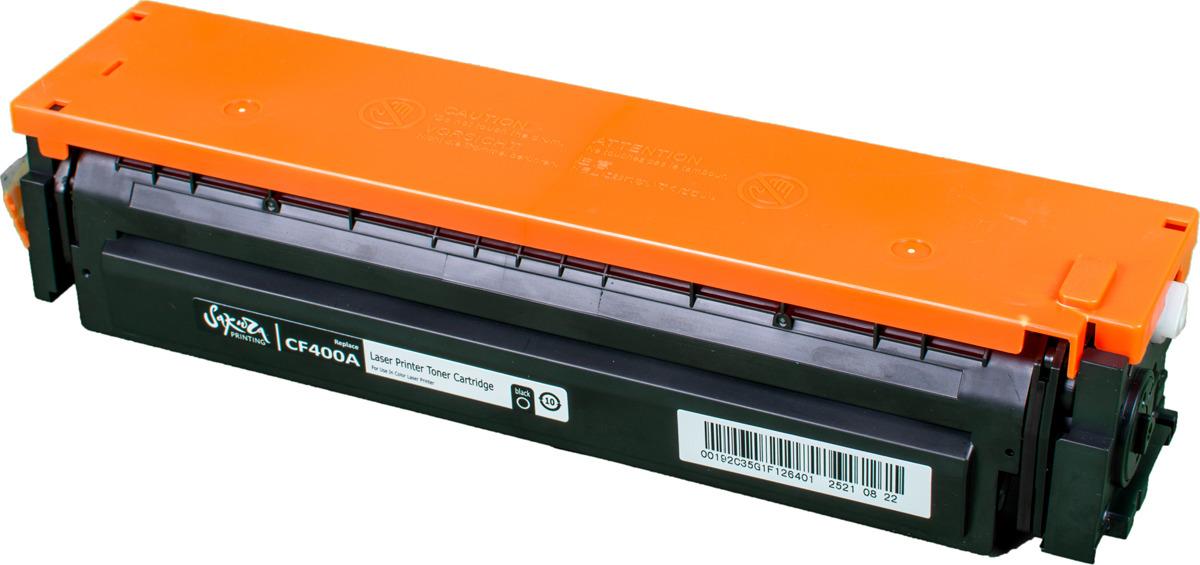 Картридж Sakura CF400A для HP Color LaserJet Pro M252n/M252dn/MFP277dw/277n, черный