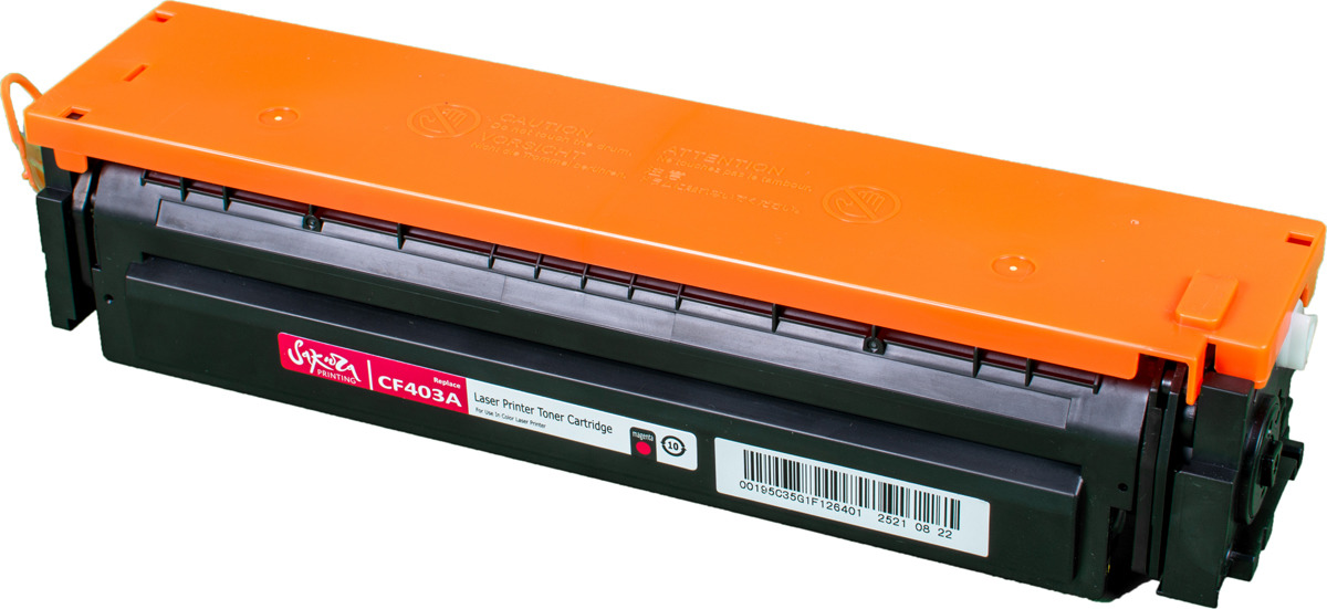 Картридж Sakura CF403A для HP Color LaserJet Pro M252n/M252dn/MFP277dw/277n, пурпурный