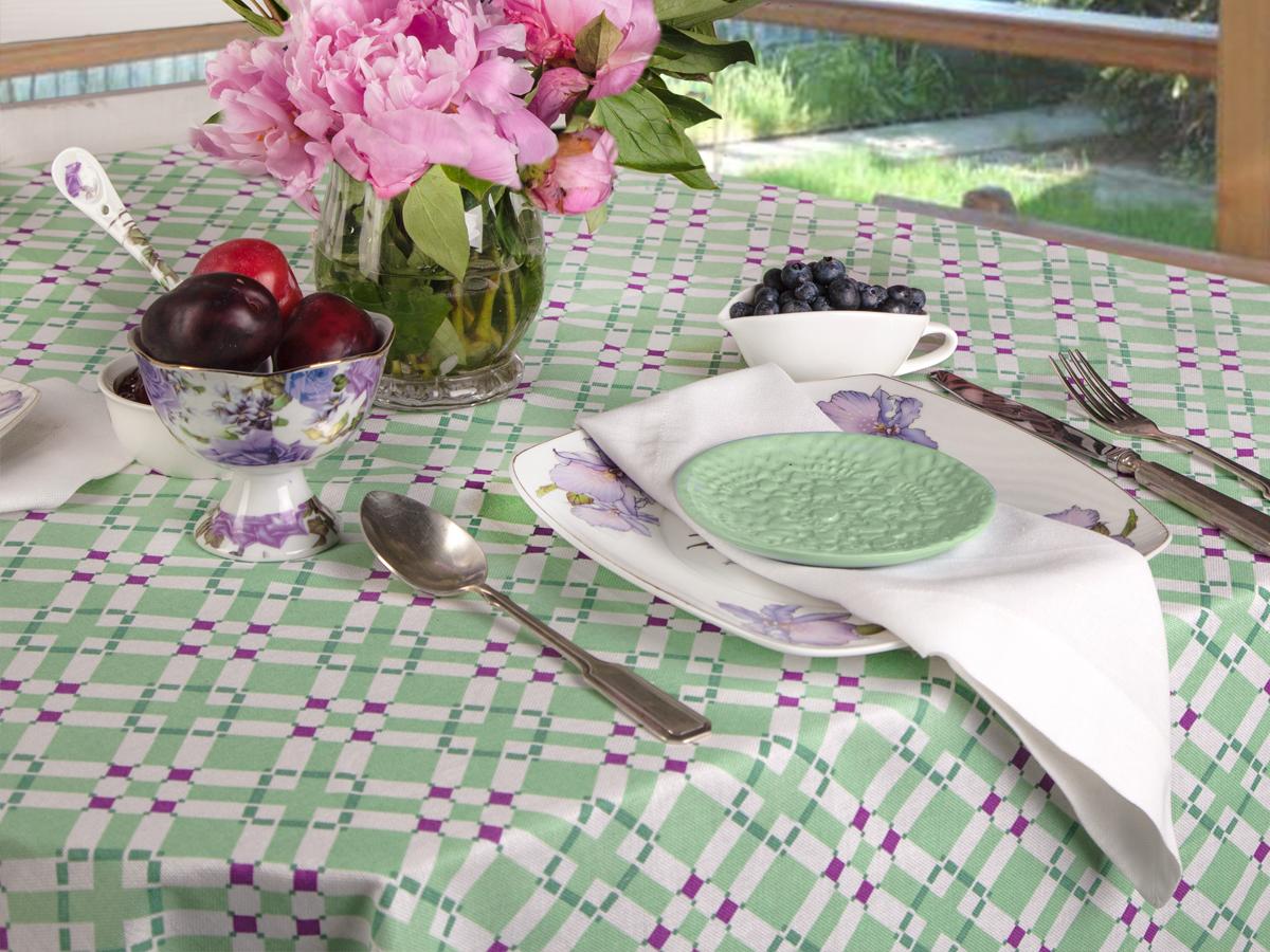 Скатерть 145*145 Bonita, Черничный мохито недорого