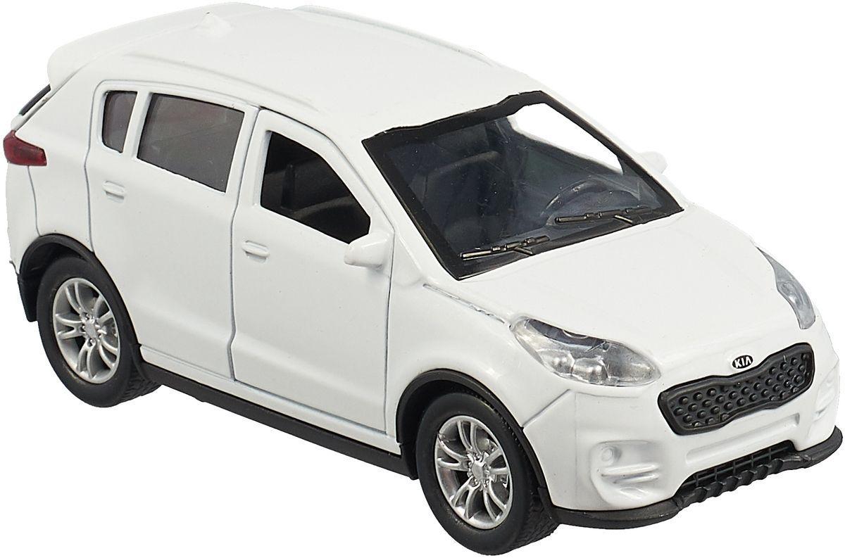 Машинка-игрушка ТехноПарк Kia Sportage гражданская белая, 16755
