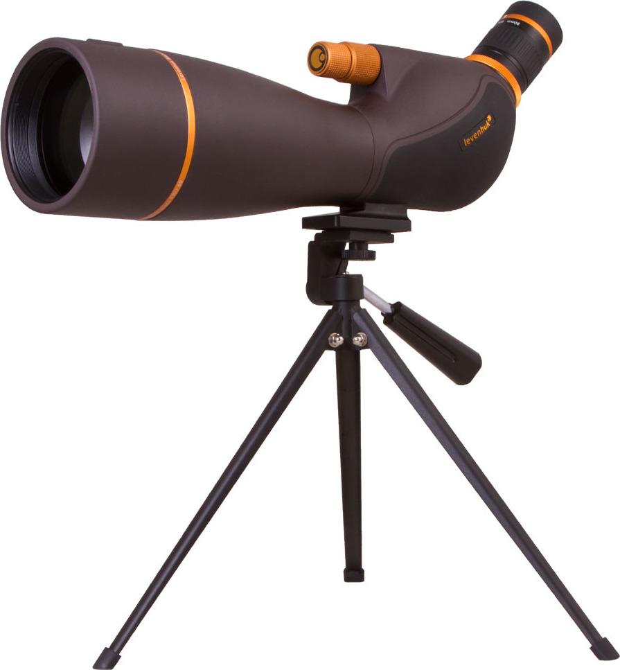 лучшая цена Зрительная труба Levenhuk Blaze Pro 80, черный