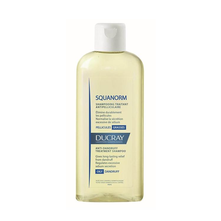 Шампунь для волос Ducray Squanorm, от жирной перхоти