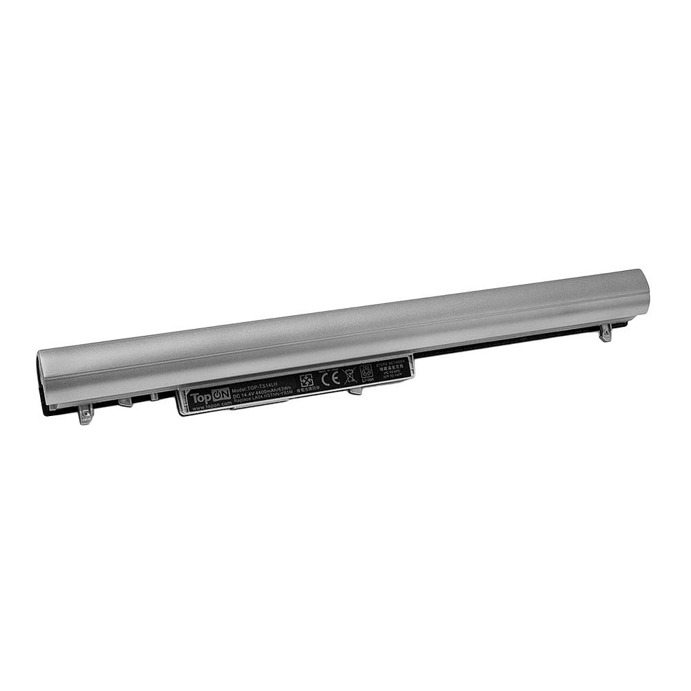 Аккумулятор для ноутбука TopON HP TouchSmart G14, 14, 15, 16, ProBook 340 G1, 350 G2. 14.4V 4400mAh 63Wh. PN: HSTNN-UB5M, TPN-Q129., TOP-TS14LH