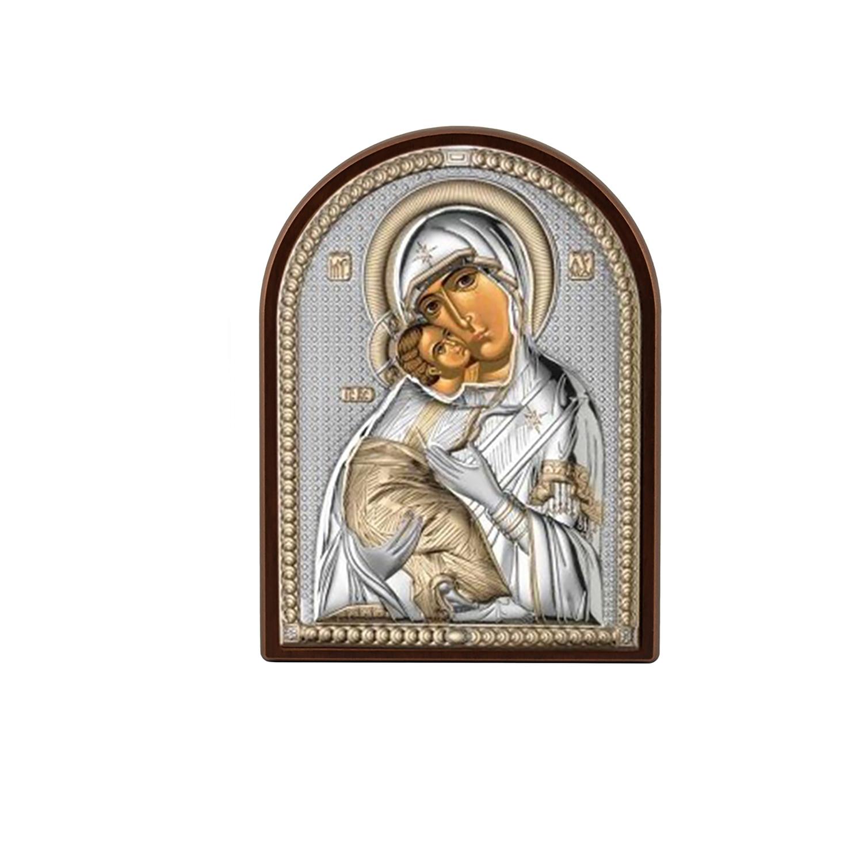 Икона Владимирская Божья Матерь (6*8,5) - иконы