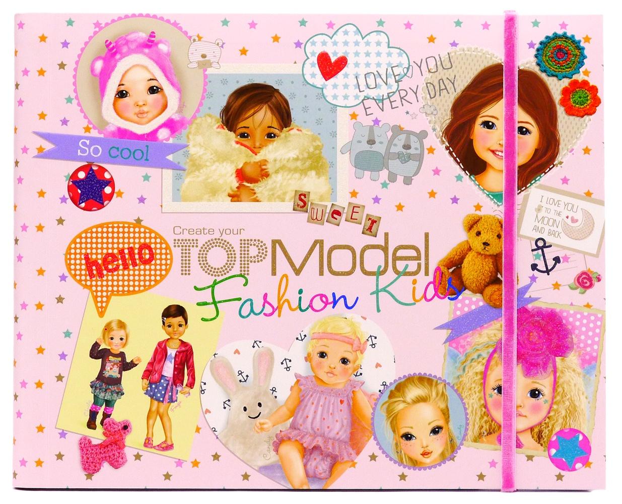 Раскраска Depesche TOPModel Kids Fashion (047981/007981)