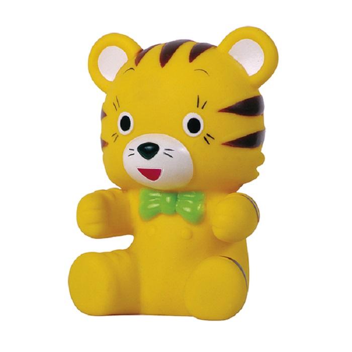 Игрушка для ванной ПОМА Игрушка с пищалкой Тигренок 1 шт. 12+, 5619 игрушка для ванной пома игрушка с пищалкой бычок 1 шт 12 3519