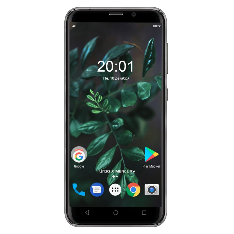 Смартфон Turbo X Mercury 16 Гб, 4G 1/16GB, черный