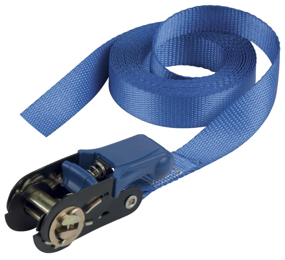 Ремень для багажа MasterLock с храповым механизмом MASTER ECO 25мм/5м/300кг/1шт., 4365EURDAT трос для прочистки канализационных труб 5 5 мм х 3 м