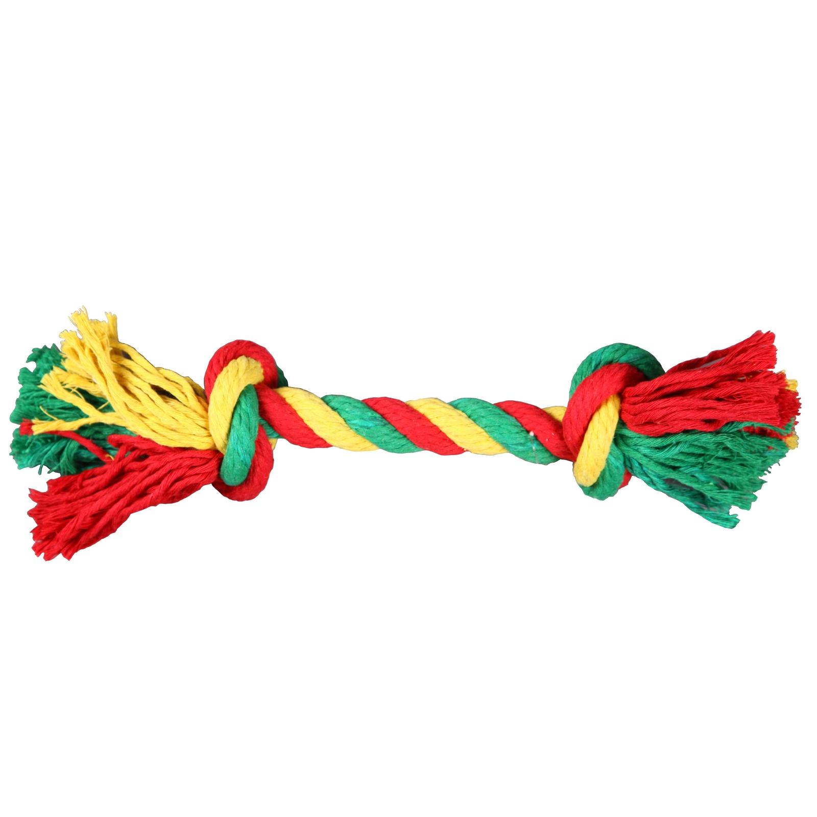 Игрушка для животных JOY Веревка 2 узла JOY текстильная игрушка для собак 2РУА00106