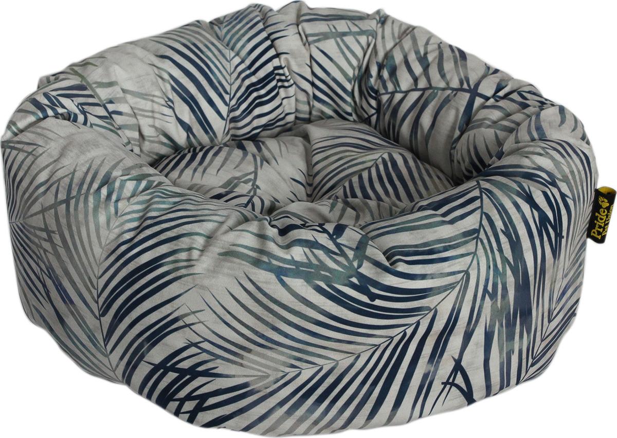 Лежак для животных Pride Джангл, 10011742, серый, 53 х 53 х 20 см лежак для животных pride мехико 10011621 желтый 53 х 53 х 20 см