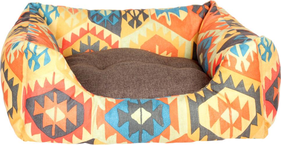 Лежак для животных Pride Мехико, 10012501, желтый, 60 х 50 х 21 см лежак для животных pride мехико 10011621 желтый 53 х 53 х 20 см