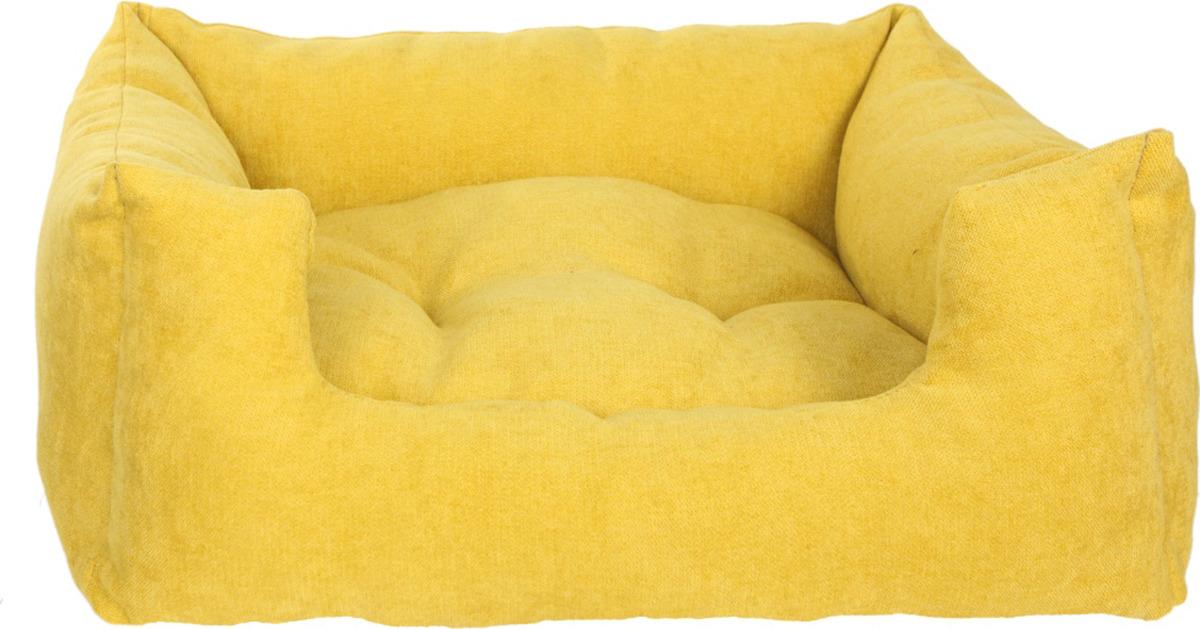"""Лежак для животных Pride """"Резот"""", желтый"""