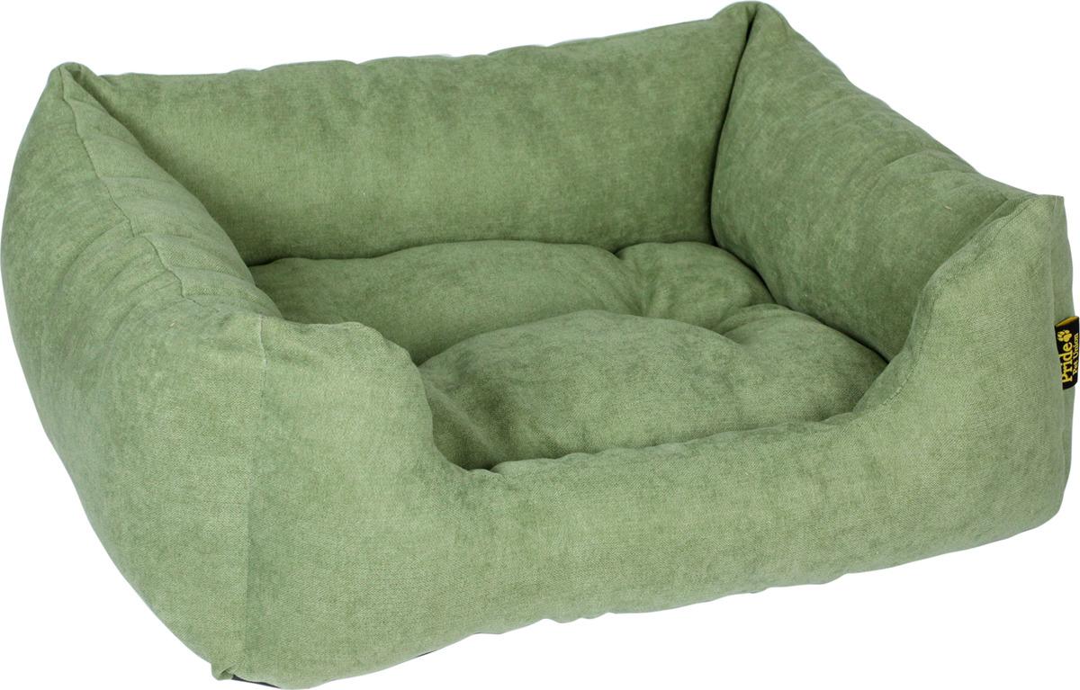 """Лежак для животных Pride """"Резот"""", зеленый"""