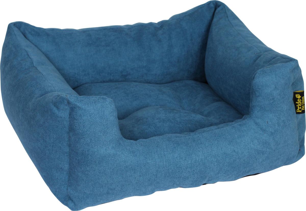 Лежак для животных Pride Резот, синий для пикника лежаки