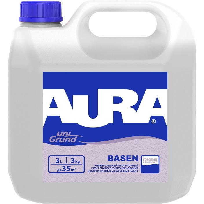 Грунтовка Aura Basen универсальная глубокого проникновения, 3л