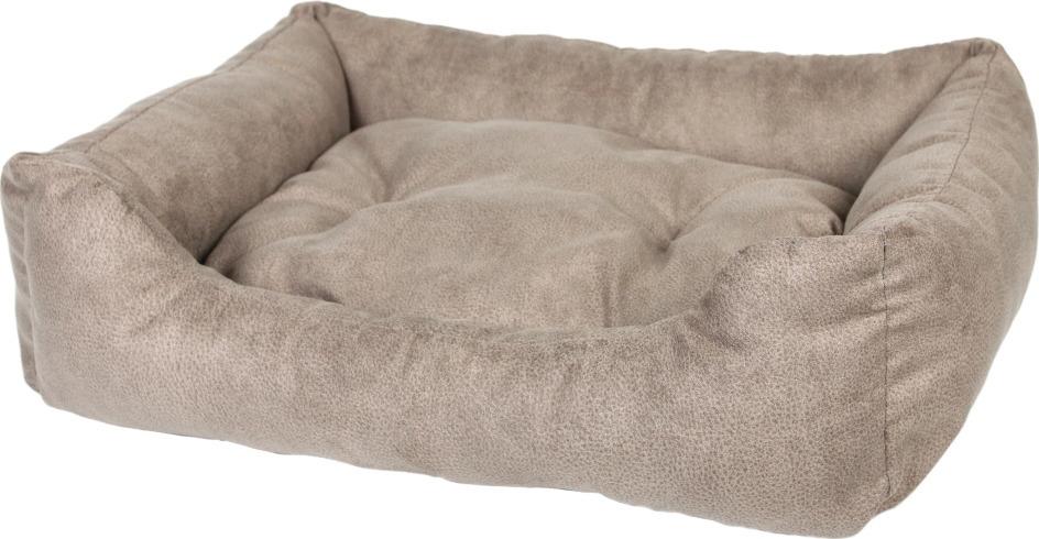 Лежак для животных Pride Ранчо, 10012641, серый, 60 х 50 х 23 см лежак для животных pride кадиллак цвет мультиколор 60 х 50 х 18 см