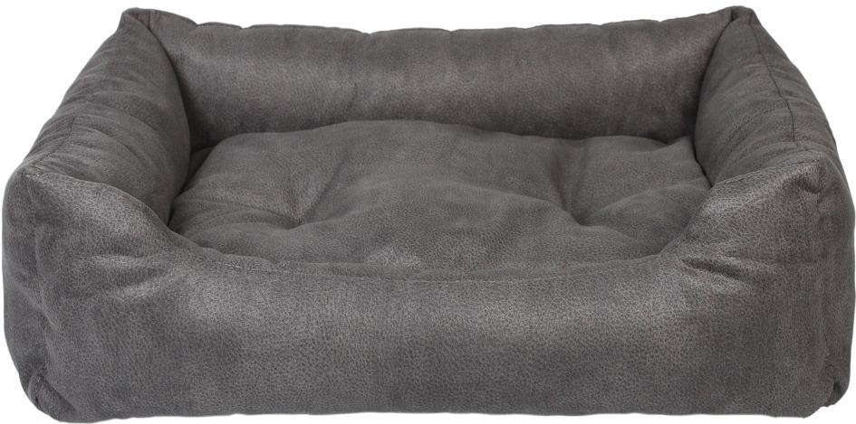 """Лежак для животных Pride """"Ранчо"""", 10012652, темно-серый, 70 х 60 х 23 см"""