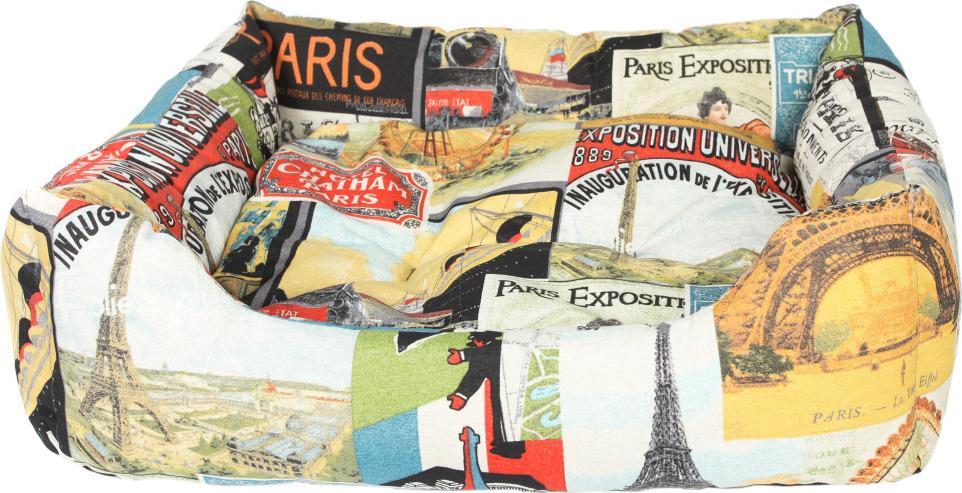 """Лежак для животных Pride """"Париж"""", 10012672, 70 х 60 х 23 см"""