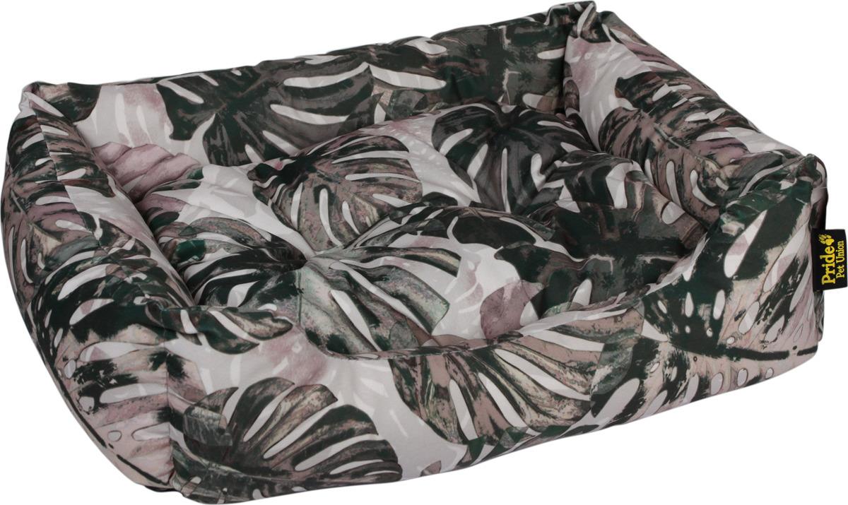 Лежак для животных Pride Тропикана, 10012741, сиреневый, 60 х 50 х 18 см