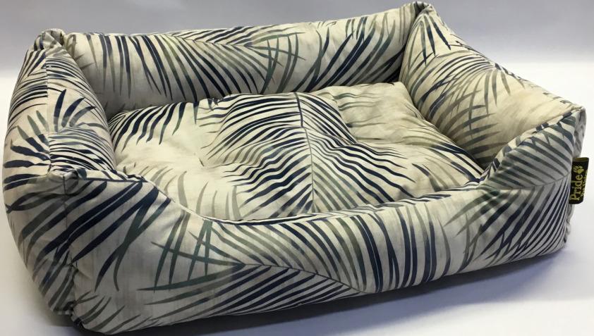 Лежак для животных Pride Джангл, 10012771, серый, 60 х 50 х 18 см