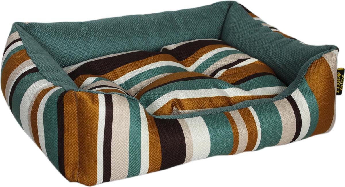 Лежак для животных Pride Мадагаскар, 10012802, бирюзовый, 70 х 60 х 23 см лежак для животных pride мадагаскар 10012802 бирюзовый 70 х 60 х 23 см