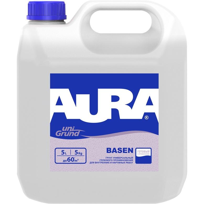 Грунтовка Aura Basen универсальная глубокого проникновения, 5л