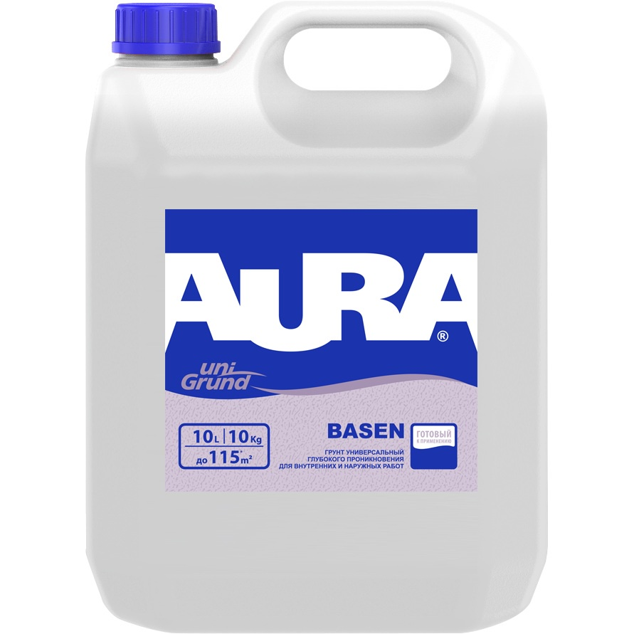 Грунтовка Aura Basen универсальная глубокого проникновения, 10л