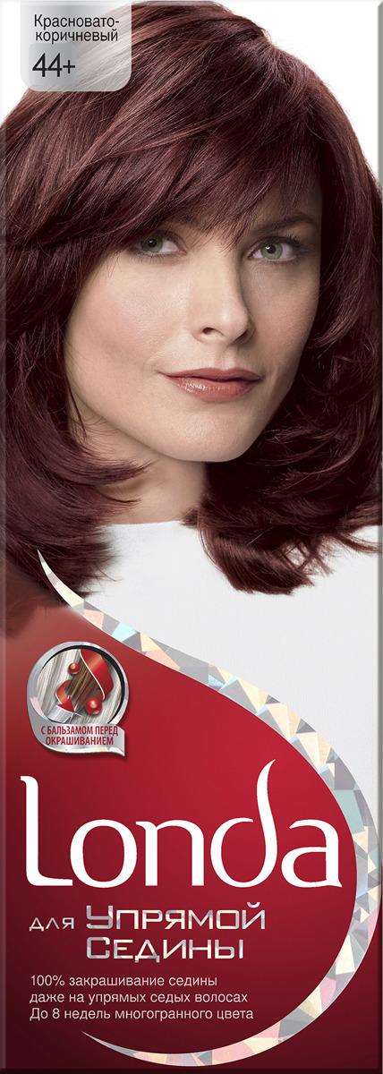 Крем-краска для волос Londa для упрямой седины, стойкая, 44 красновато-коричневый цена и фото