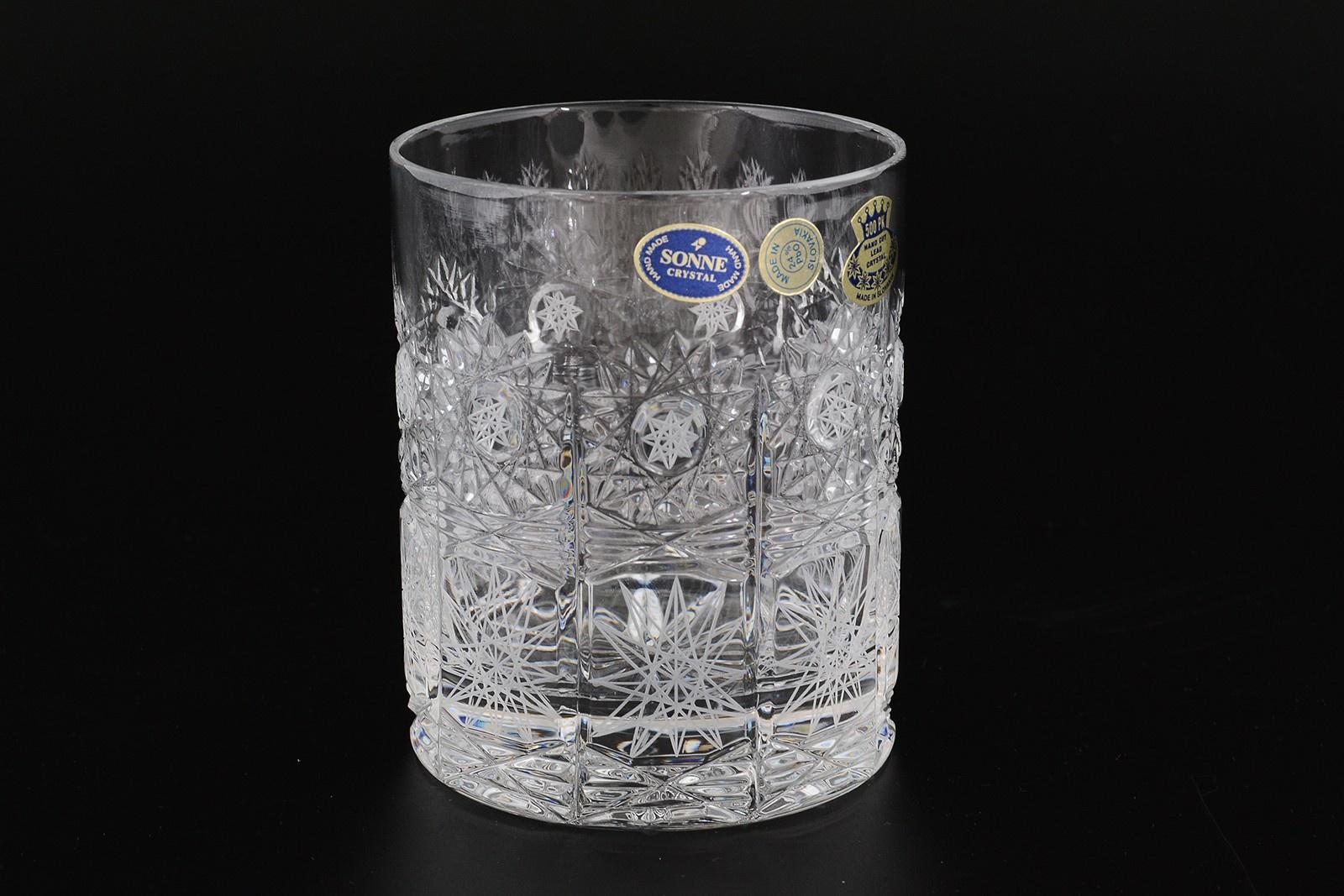 Набор стаканов для виски 300 мл Sonne Crystal (6 шт) корзина 30 см sonne crystal