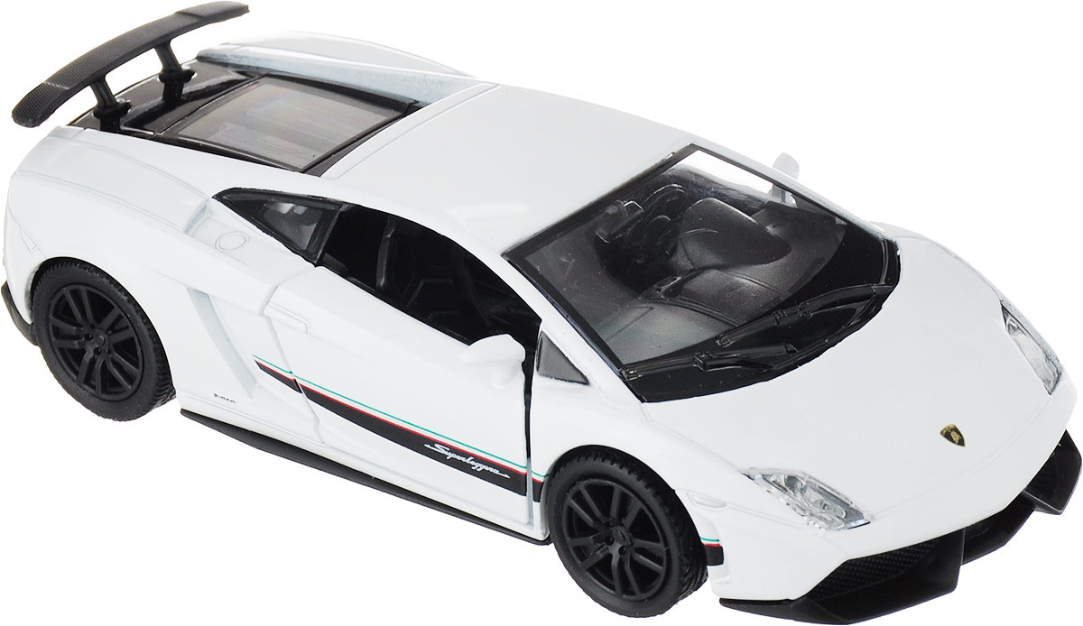 Модель автомобиля Autotime Lamborghini Gallardo LP 570-4 Superleggera, 34163 autotime модель автомобиля uaz 39625 гражданская