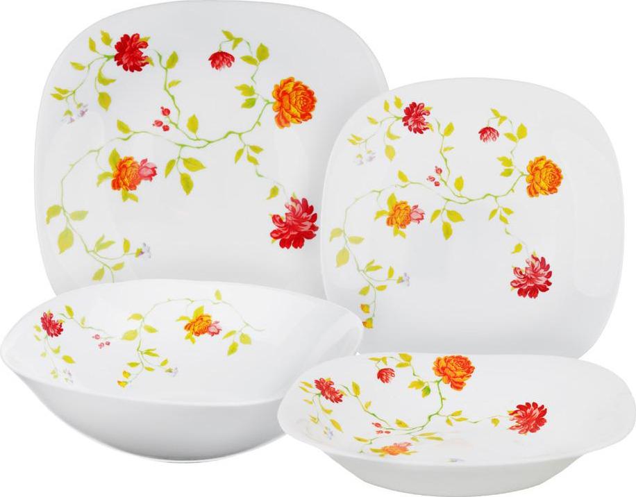 """Набор столовой посуды Millimi """"Дионис"""", 818075, белый, 13 предметов"""